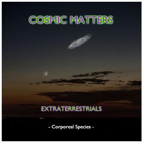 Cosmic Matters