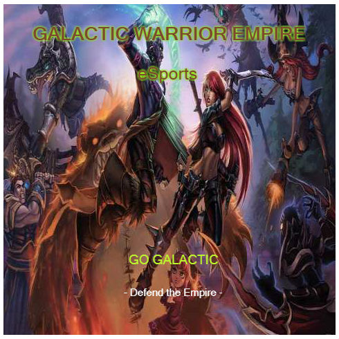 galactic warrior empire esports